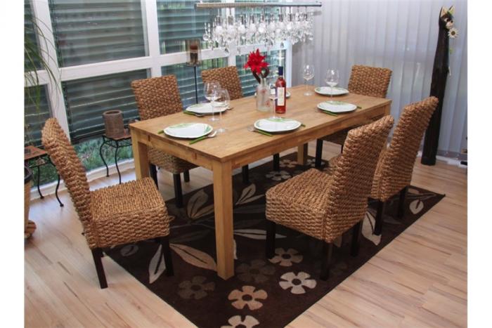 mesas y sillas de mimbre dise os arquitect nicos