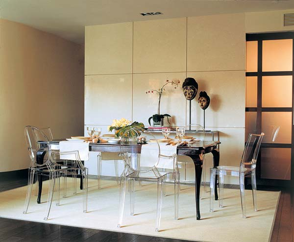 Los 5 tipos de decoraci n para comedores for Comedor redondo 5 sillas