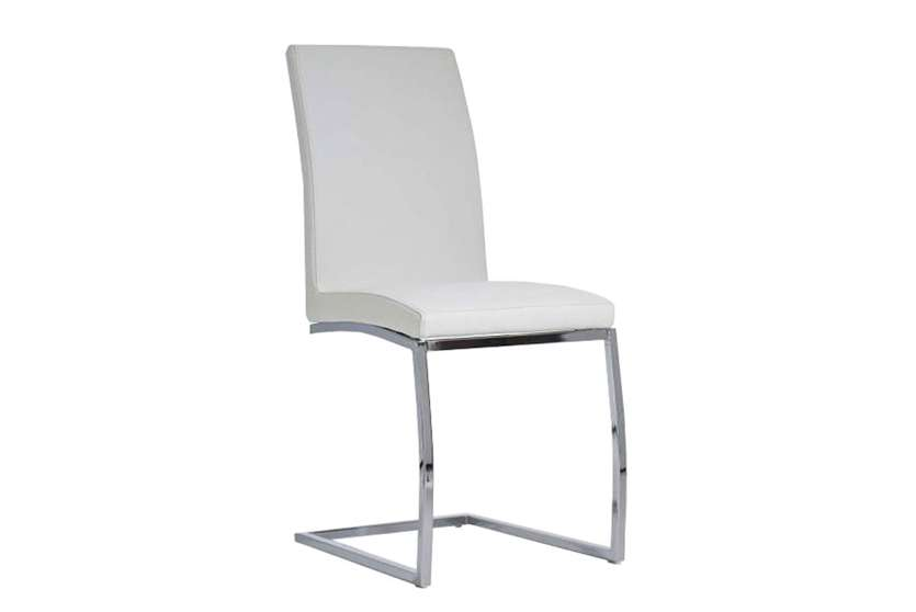 Sillas comedor blancas latest pack mesa comedor ext for Sillas salon blancas