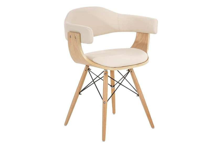 C mo combinar sillas de comedor de dise o for Modelos de sillas de madera para comedor