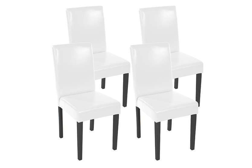 Pros y contras de las sillas de comedor blancas for Sillas blancas para comedor