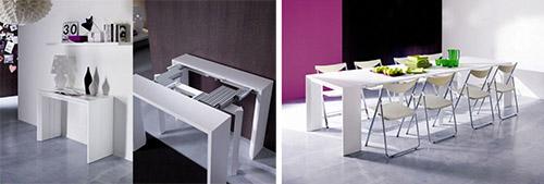 Ventajas de elegir una mesa extensible de comedor - Mesa plegable diseno ...