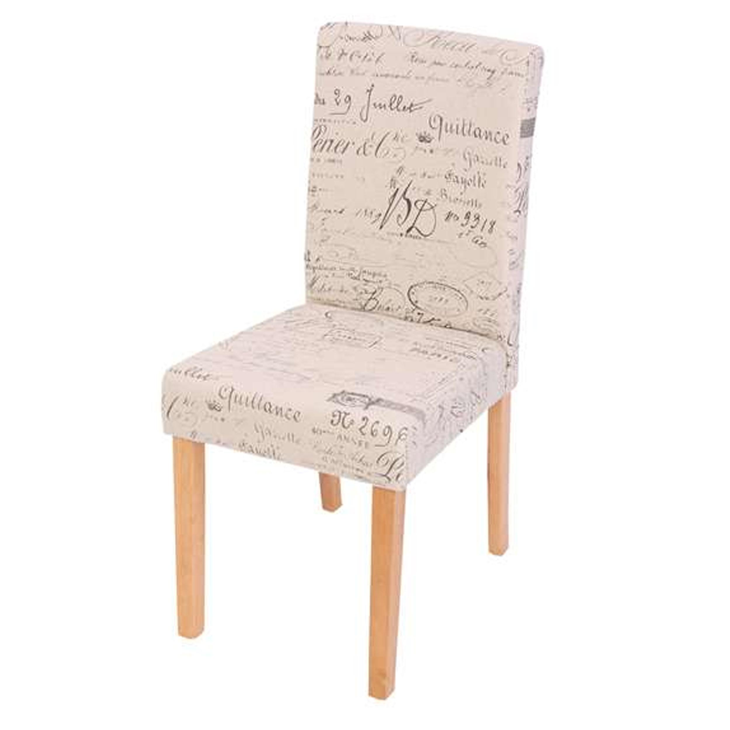 Tapizado para sillas de comedor sillas tapizadas con dos tejidos silla de diseo moderno - Tejidos para tapizar sillas ...