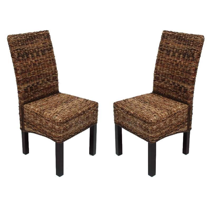 Ventajas de las sillas de mimbre para jard n - Sillas colgantes de mimbre ...