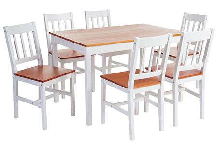 Cu l es la altura ideal de las mesas de comedor homy for Mesas y sillas para cocina comedor