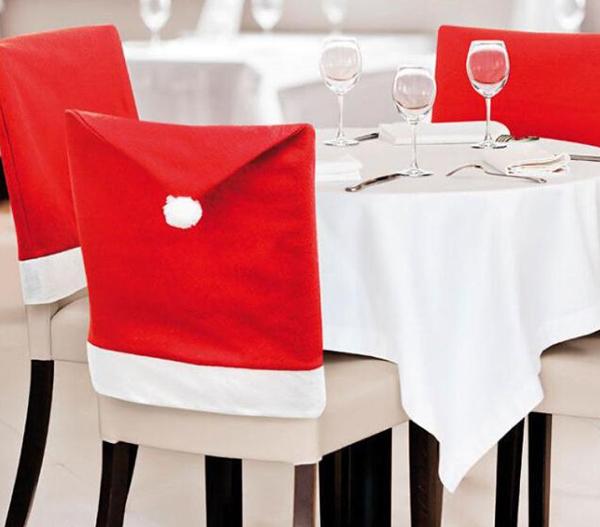 Adornos de navidad para sillas de comedor for Sillas para comedor 2016