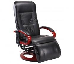 sillón relax reclinable color negro