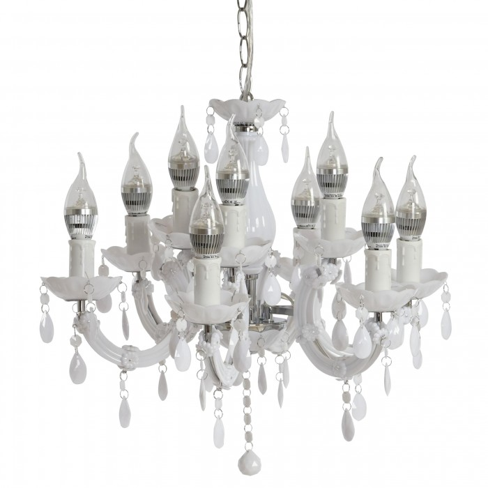 lámparas de araña modernas con 9 brazos