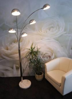 iluminación en salones modernos 2017