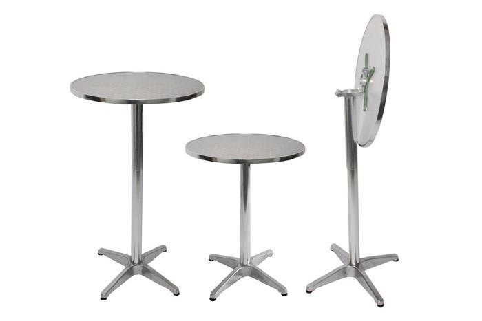 mesas altas para bar plegables