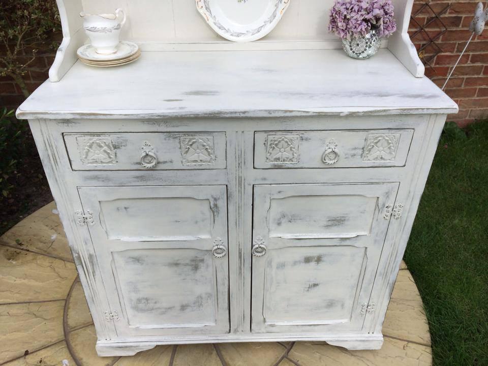 Muebles pintados a la tiza la nueva tendencia decorativa - Pintura acrilica para muebles ...