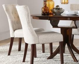 Sillas de comedor las mejores sillas para tu hogar for Sillas tapizadas comedor