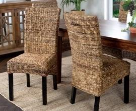 Sillas de comedor las mejores sillas para tu hogar for Sillas mimbre comedor