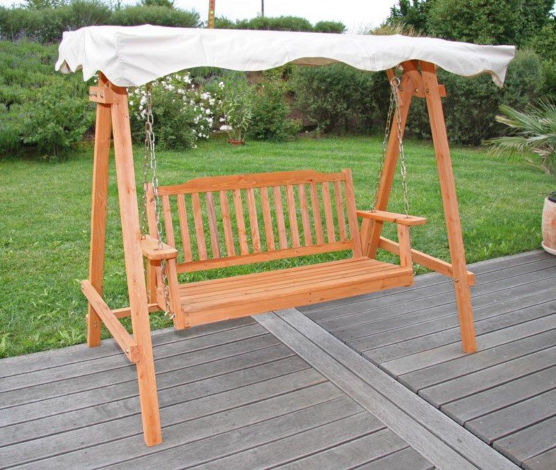 mecedora para jard n m29 en madera dimensiones 167x185x105cm ForMecedoras Para Jardin