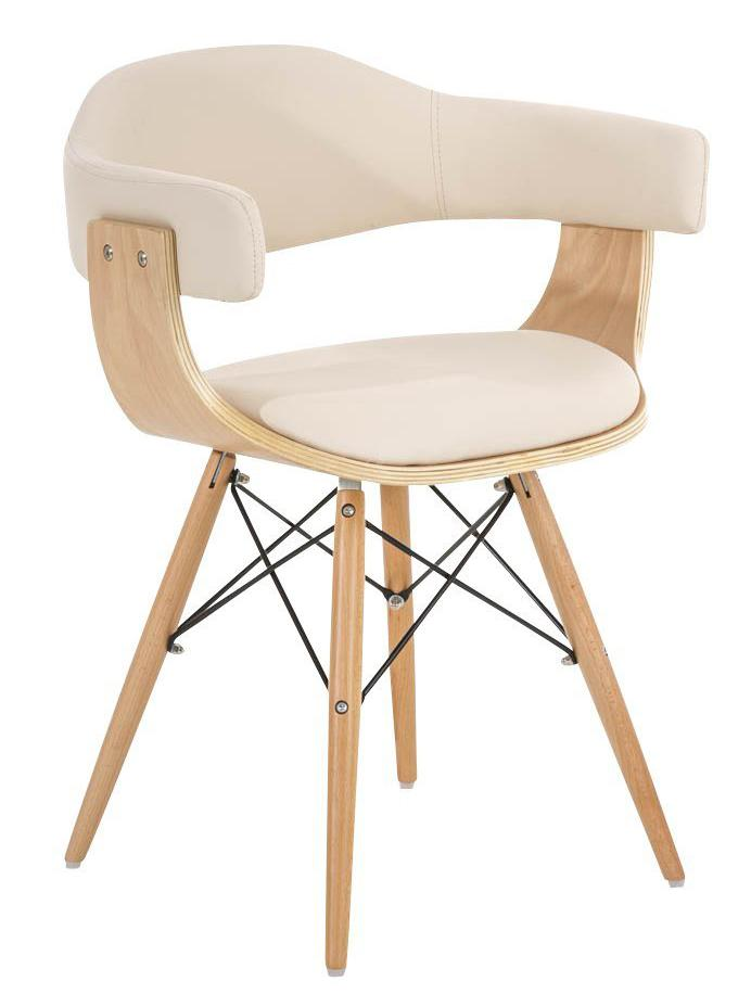 Silla barry precioso dise o moderno en madera y piel for Disenos de sillas de madera