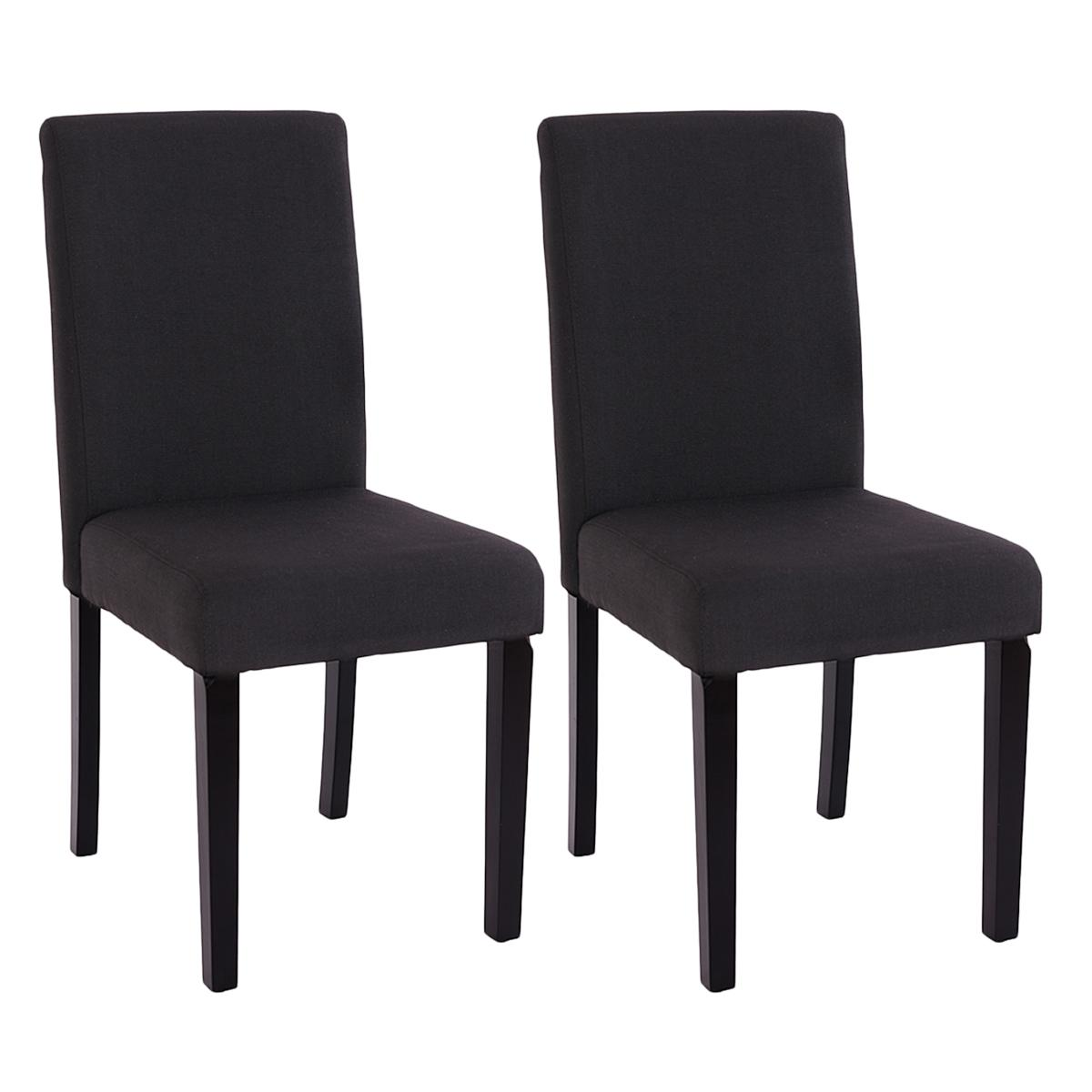 Lote 2 sillas de comedor litau tela precioso dise o en for Sillas de tela comedor