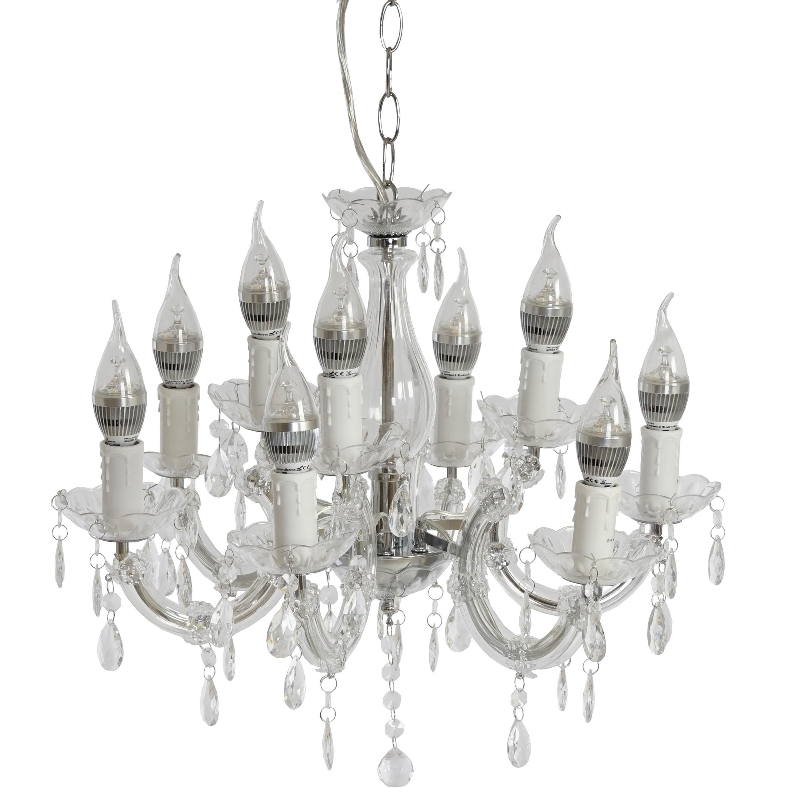 L mpara de ara a atenea 9 apliques con bombillas led - La casa de las lamparas ...
