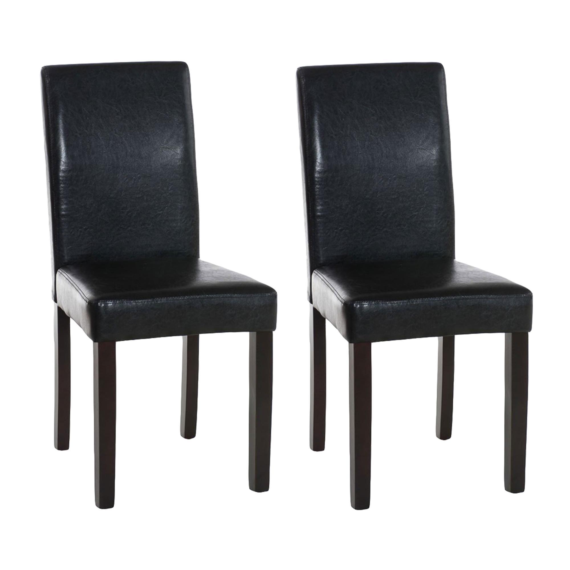 Lote de 2 sillas de comedor capri muy c modas y robustas for Sillas comodas comedor