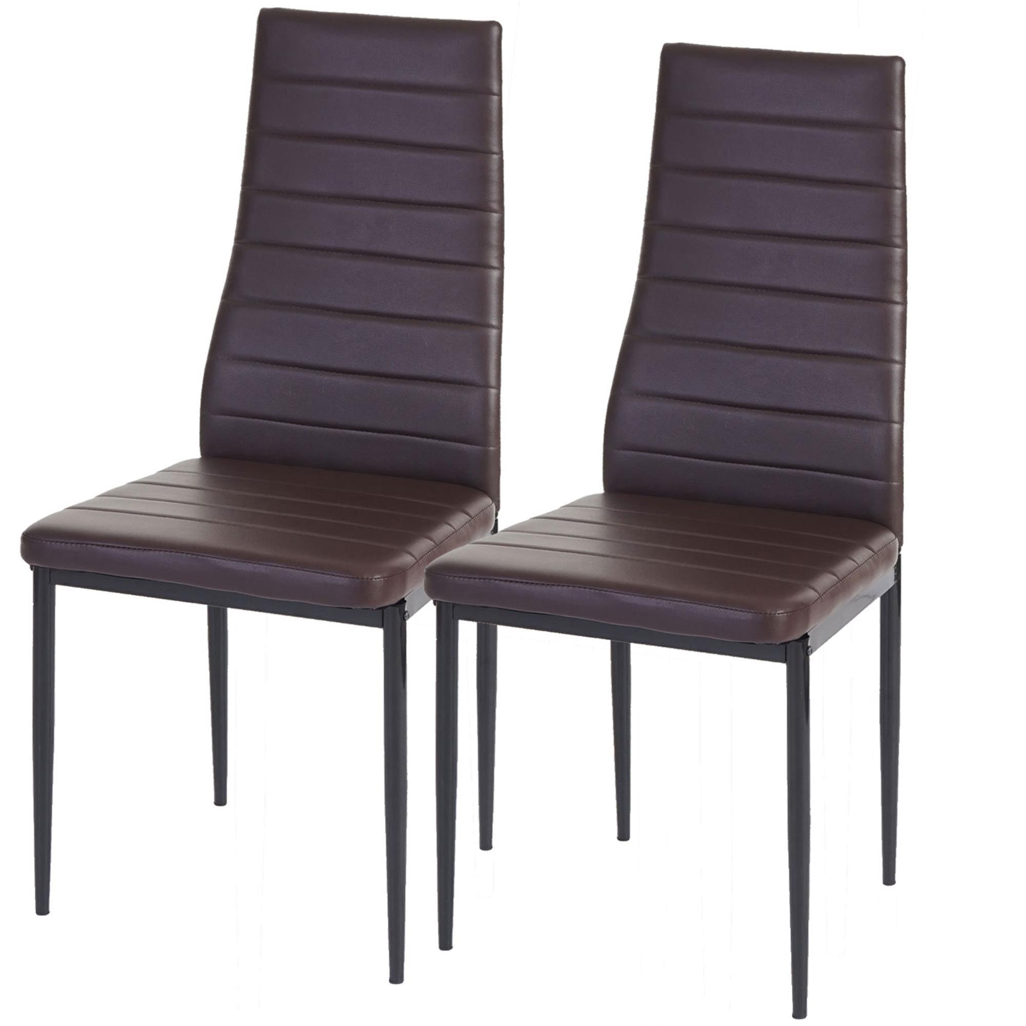 Lote 2 sillas de comedor o cocina kiros gran acolchado for Sillas de cocina tapizadas