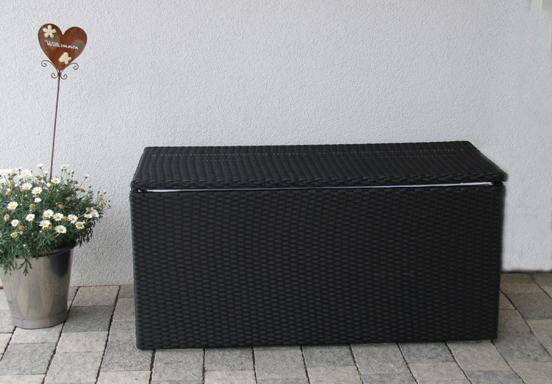Caja o baul para almacenamiento rom dimensiones 118 cm - Baul plastico jardin ...
