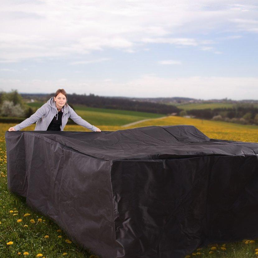 Lona cubierta para la lluvia cubierta para muebles de for Lonas para jardin