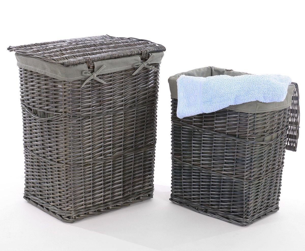 cestos de mimbre para ropa