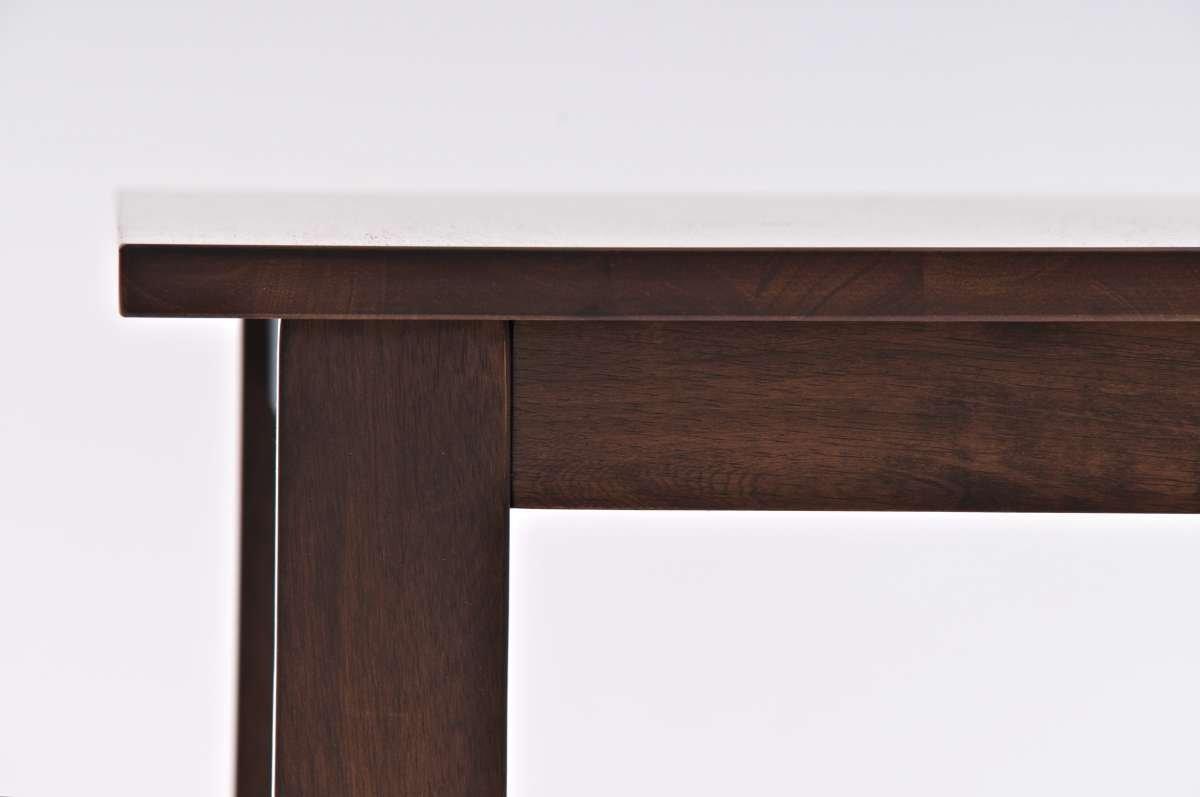 Mesa cuadrada de bar cocina o terraza modelo luna mesa for Bar modelos madera