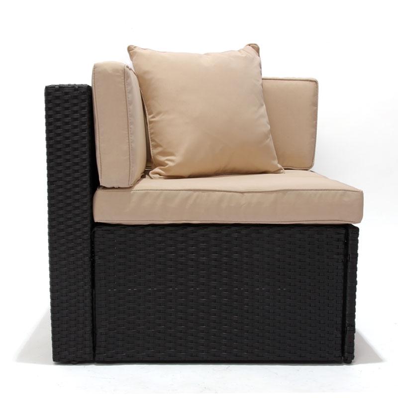 M dulo para sofa parma esquinero en poli rattan color for Sofa esquinero precio