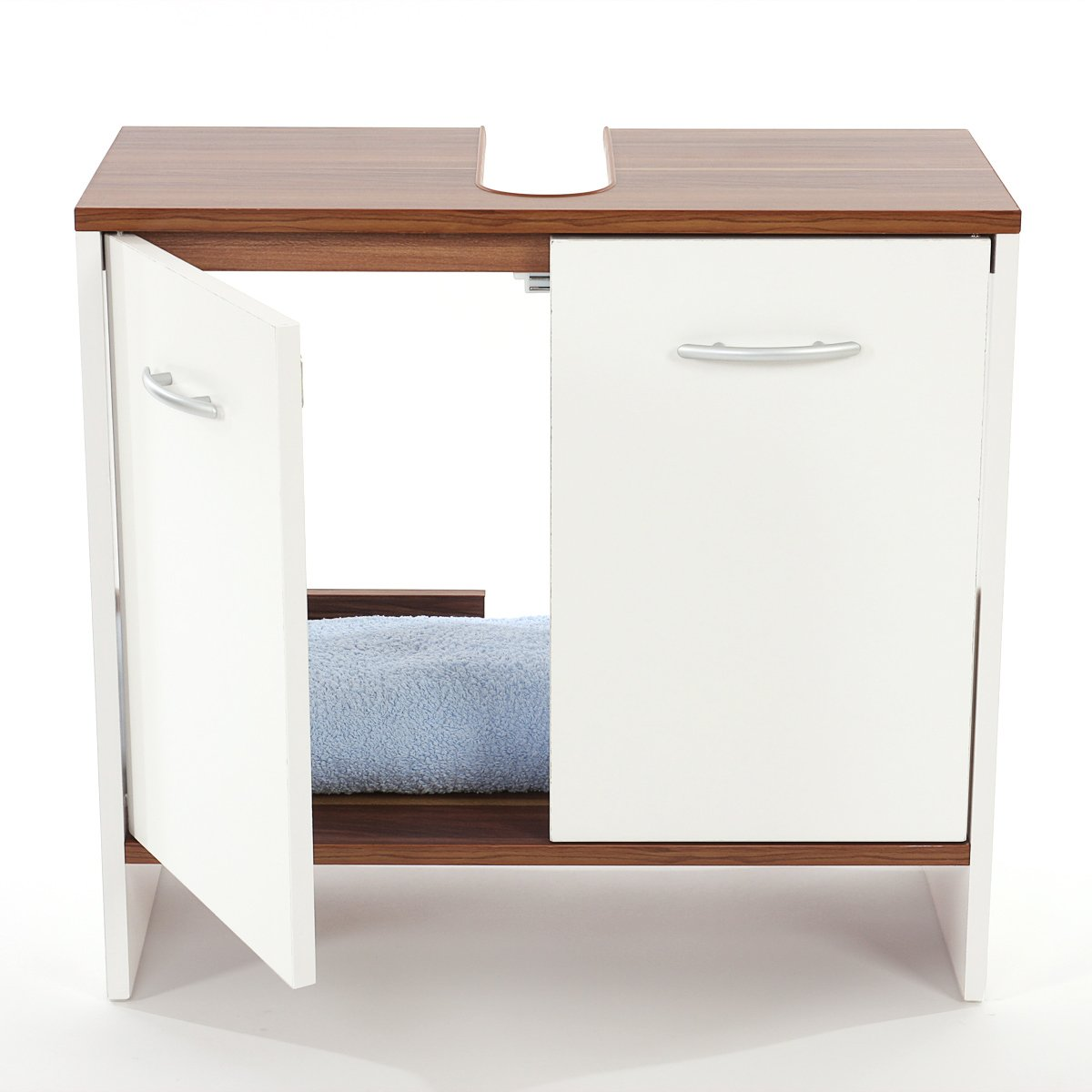 Mueble para el lavabo viola con dos cajones muy espaciosos Mueble para lavabo