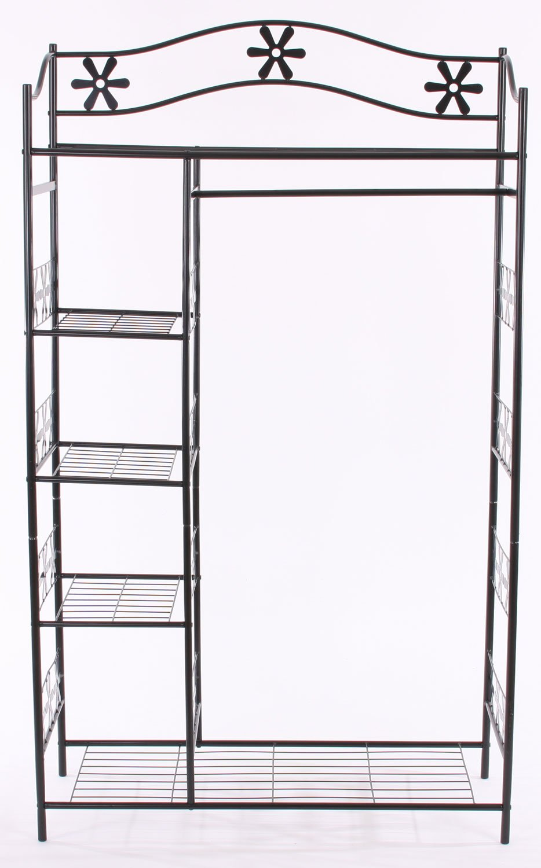Armario Planejado Para Cozinha ~ Armario de ropa en metal GINEBRA perchero estante de metal 172x100x43 cm