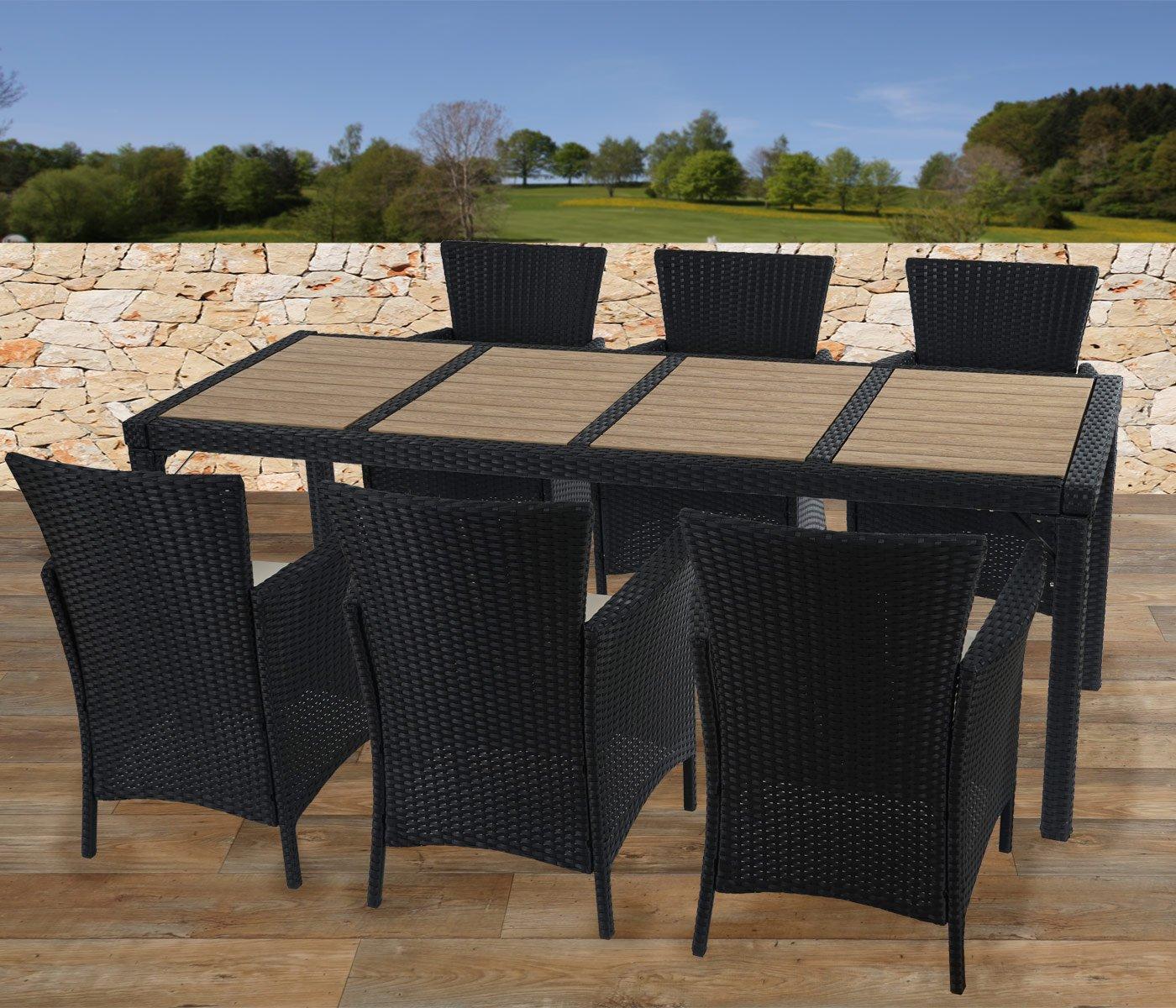 Mesa de 200x80cm romeo superficie madera y estructura de for Muebles de oficina roneo
