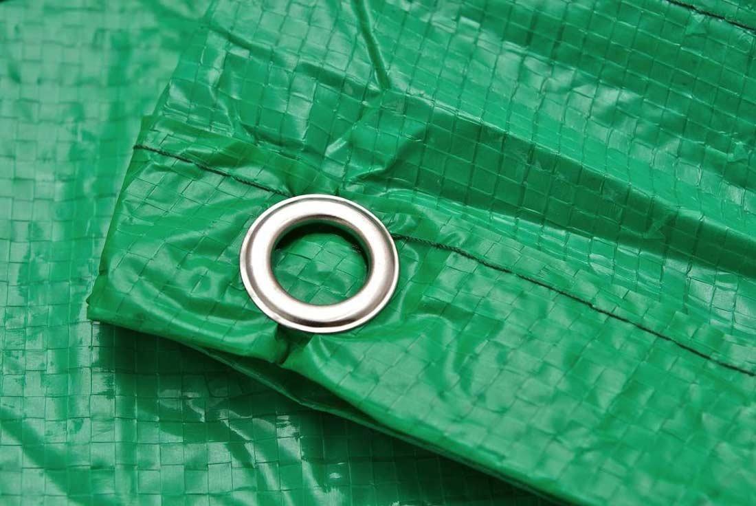 Lona verde para muebles de jard n 300x185x70 cm lona for Lonas para cubiertas
