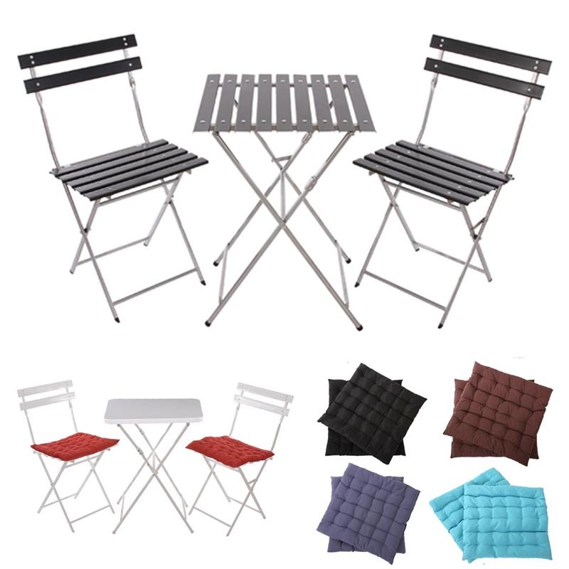 Conjunto de 2 sillas mesa para terraza o jard n en metal for Sillas de terraza y jardin