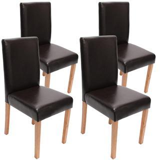 demo lote sillas de comedor litau precioso diseo en piel negra patas