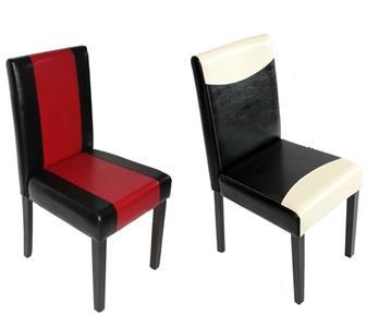 sillas nuevas de doble tapizado