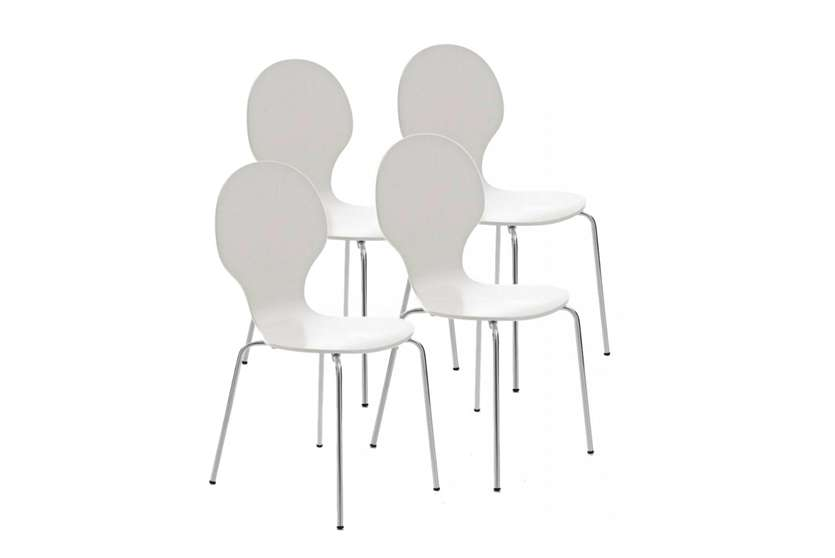 Sillas De Comedor Blancas | Pros Y Contras De Las Sillas De Comedor Blancas Homy Es Homy Es