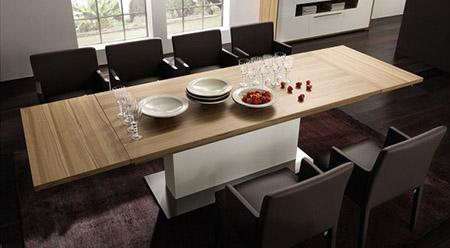 Ventajas de elegir una mesa extensible de comedor - Mesa de comedor plegable extensible ...