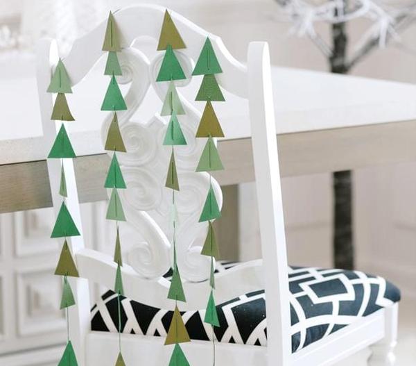 Adornos de navidad para sillas de comedor - Homy.es: Homy.es