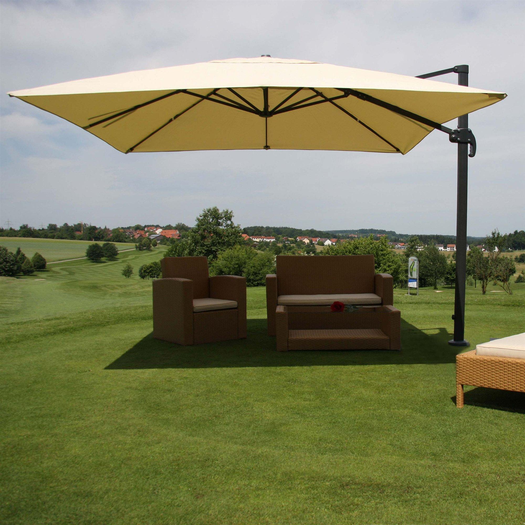 La importancia de una buena sombrilla con protecci n solar - Sombrilla de terraza ...