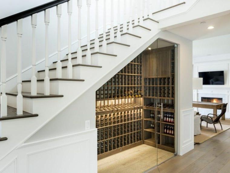 C mo aprovechar el hueco de la escalera for Como aprovechar el hueco de una escalera