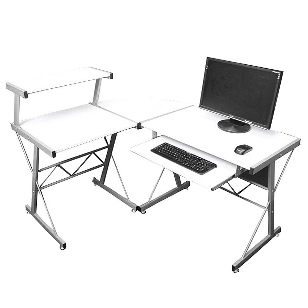 Escritorio mesa de ordernador nevada dimensiones for Dimensiones mesa escritorio
