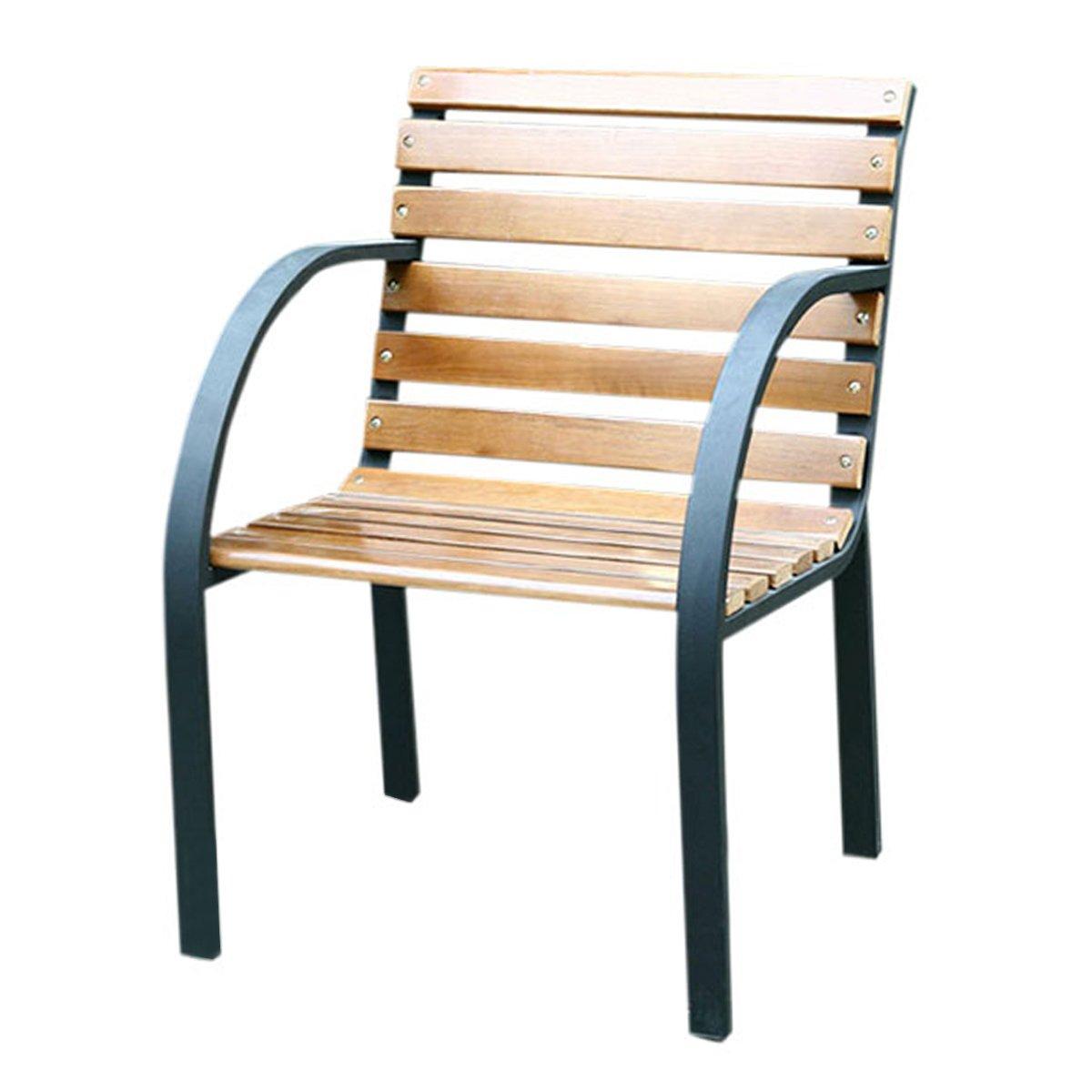Silla de jard n granada en madera de teca silla de for Sillas de terraza y jardin