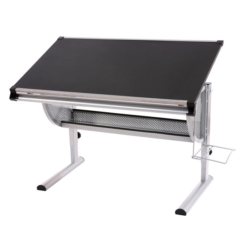 Mesa de dibujo o escritorio juvenil oxford basculante ajustable en altura color negro - Mesa escritorio juvenil ...