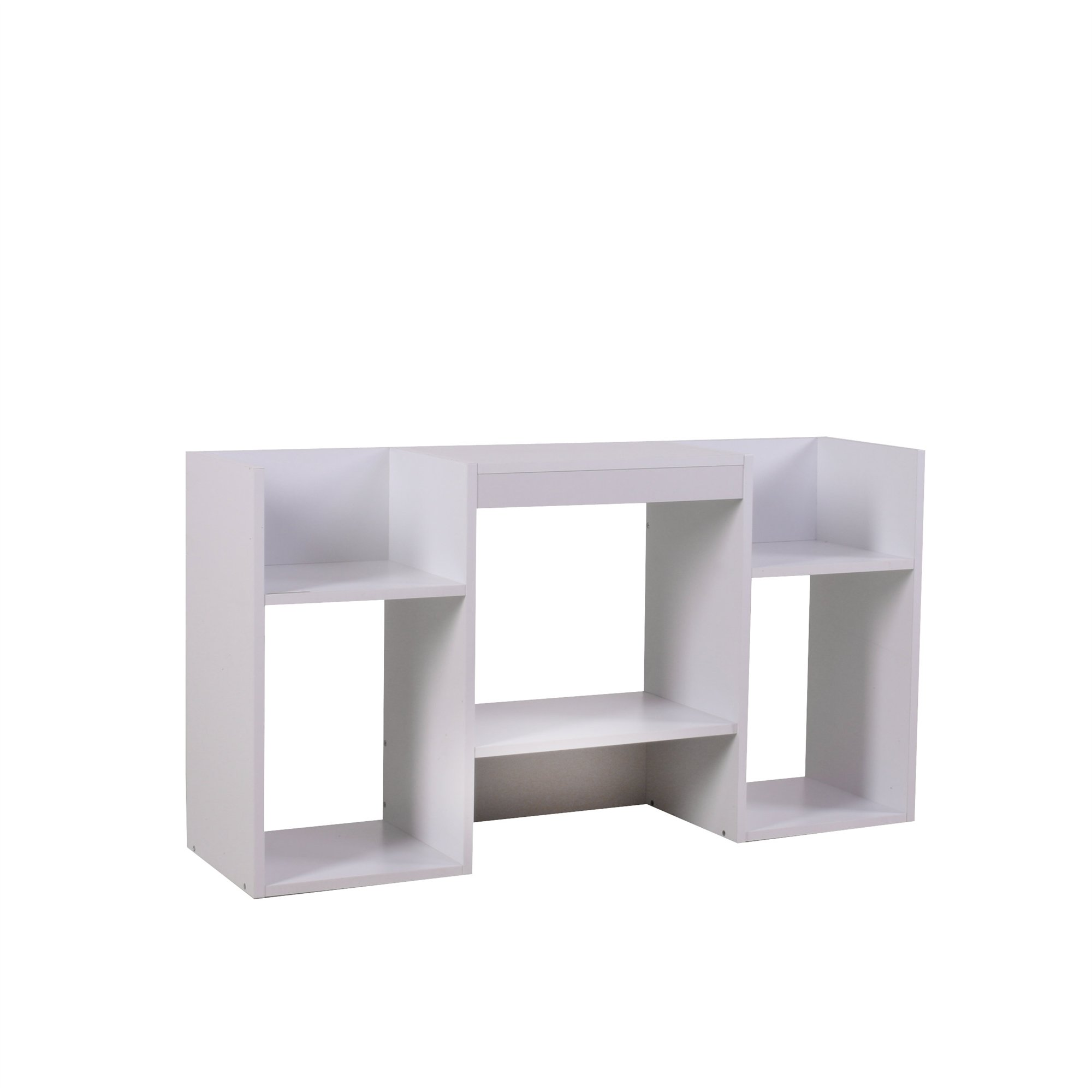 Mueble para tv soporte para tv de dise o 109x59x30 cm blanca for Mesas de tv de diseno