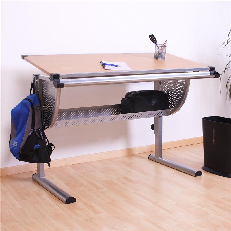 Mesa de escritorio juvenil mesa de dibujo estocolmo con - Mesa escritorio juvenil ...
