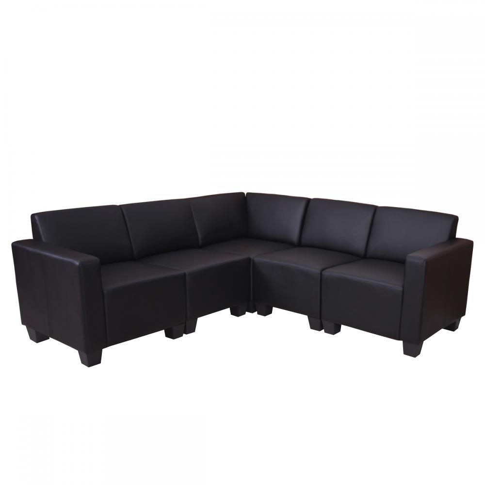 Sofa Modular LYON En 5 Piezas, Gran Acolchado, Tapizado En