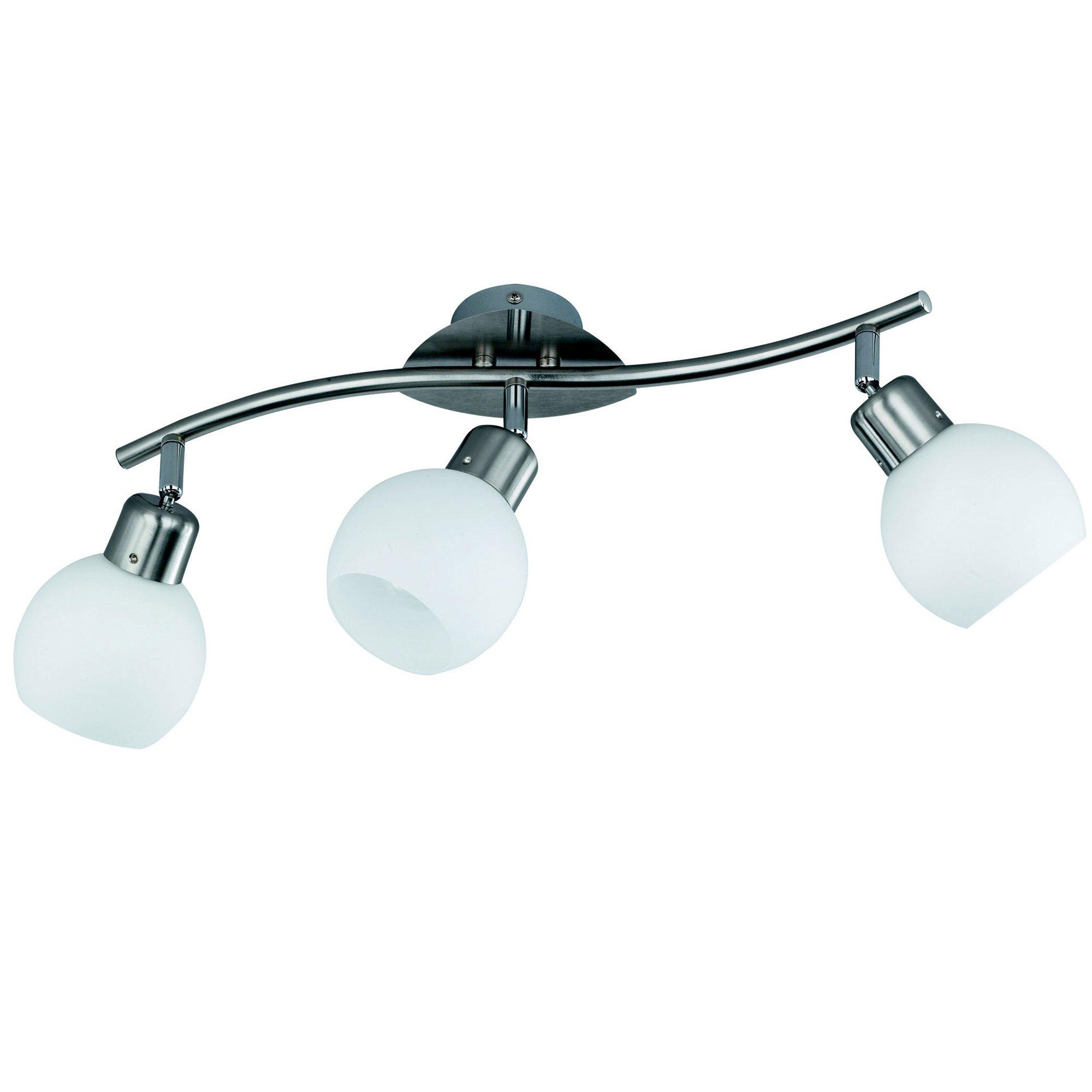 L mpara de techo 3 puntos de luz led bombillas incluidas - Luz de techo ...