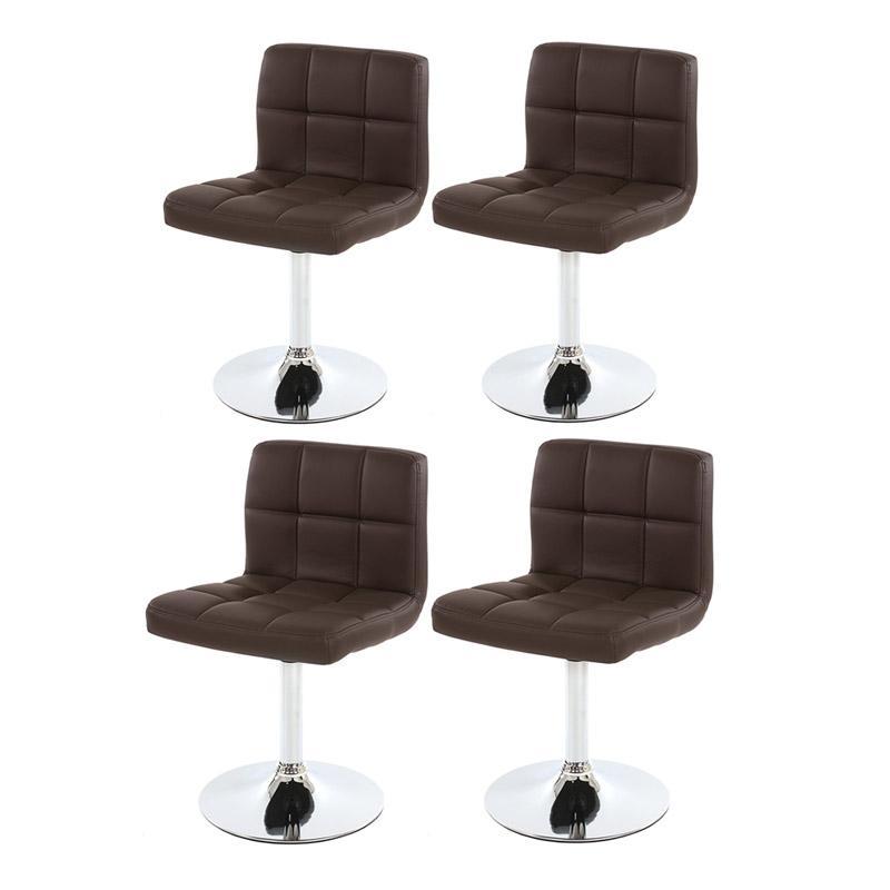 conjunto de 4 sillas de cocina genova marr nes conjunto