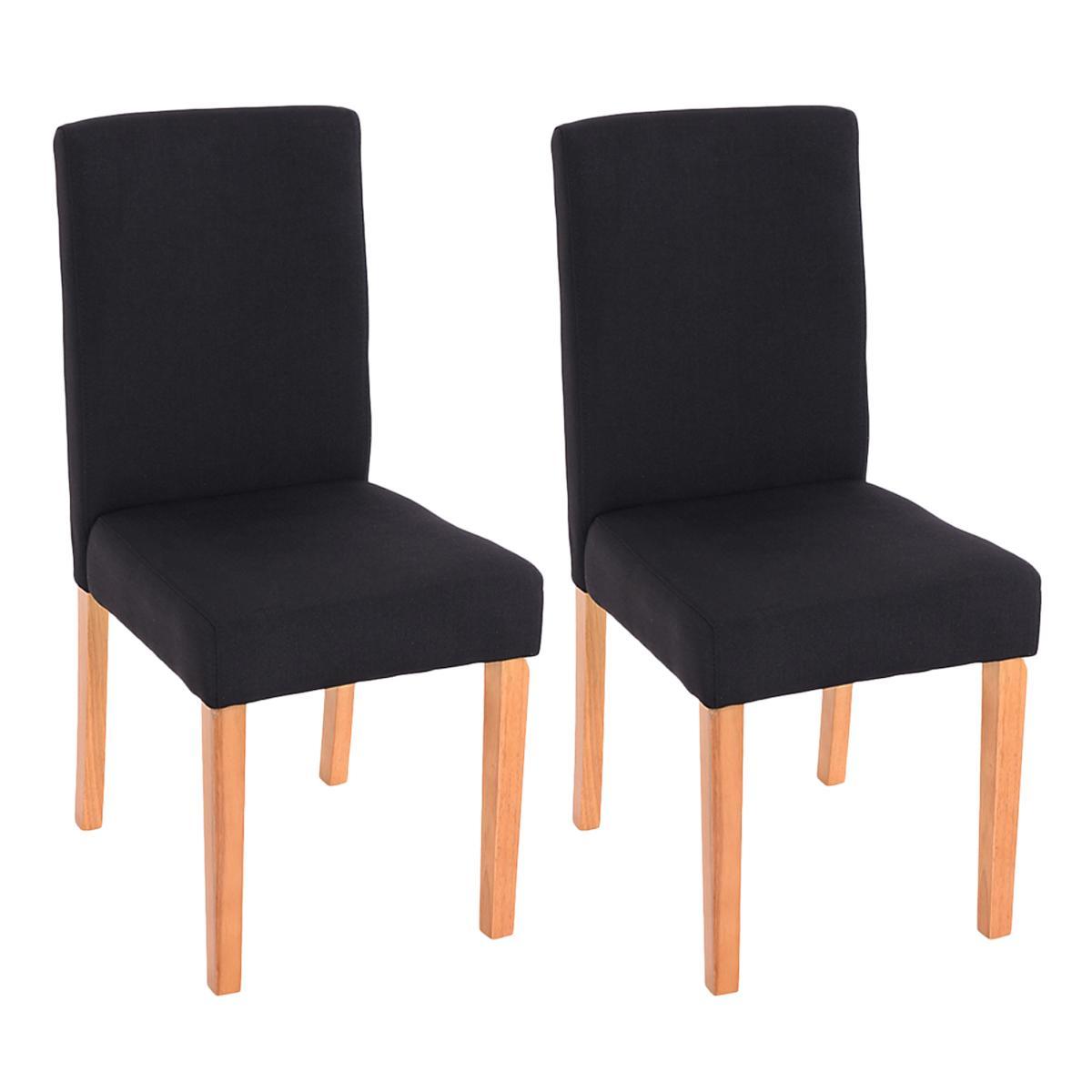 Lote 2 sillas de comedor litau tela precioso dise o en - Tela para sillas de comedor ...