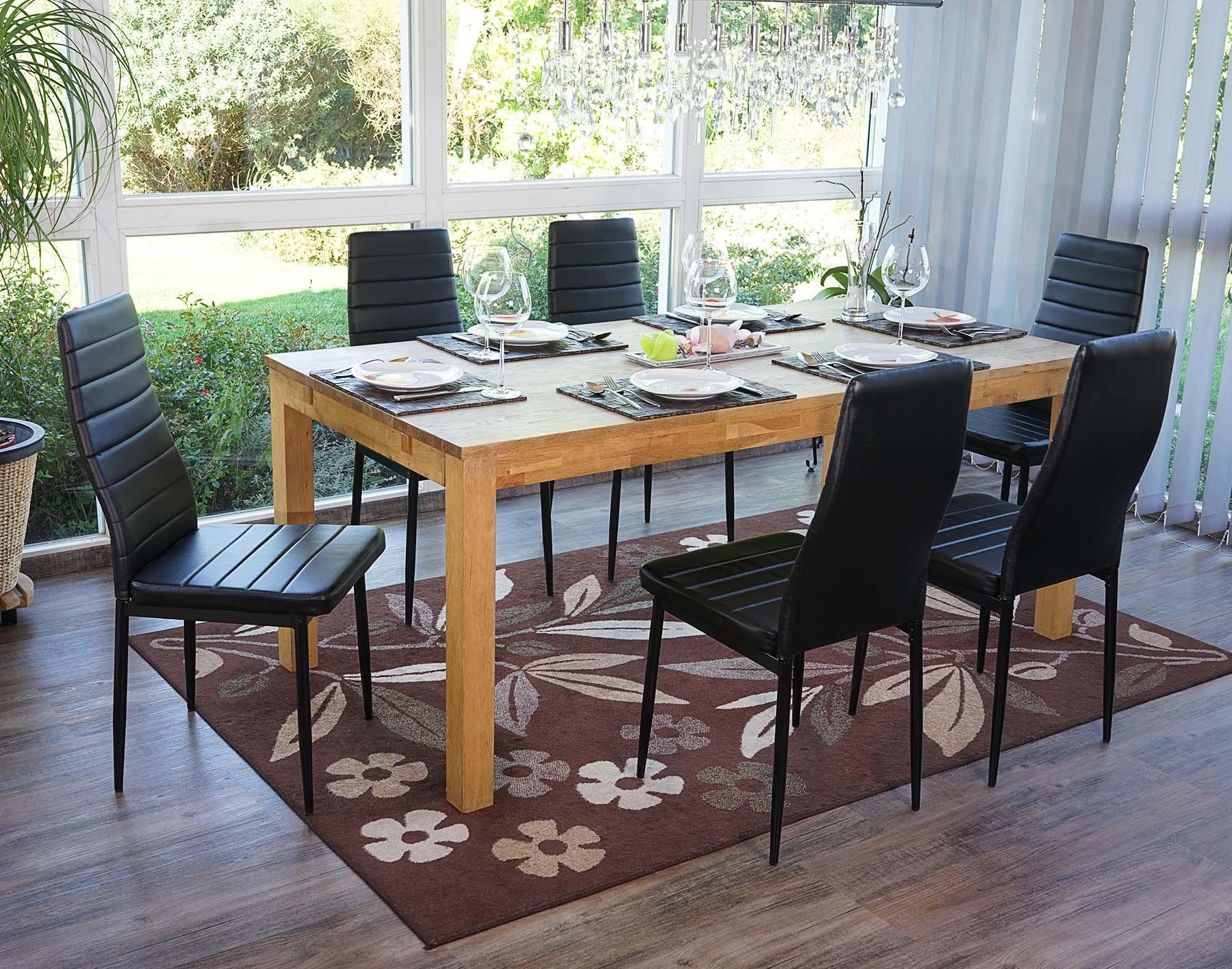 Lote 6 sillas de comedor o cocina CALISA, gran diseño con patas ...